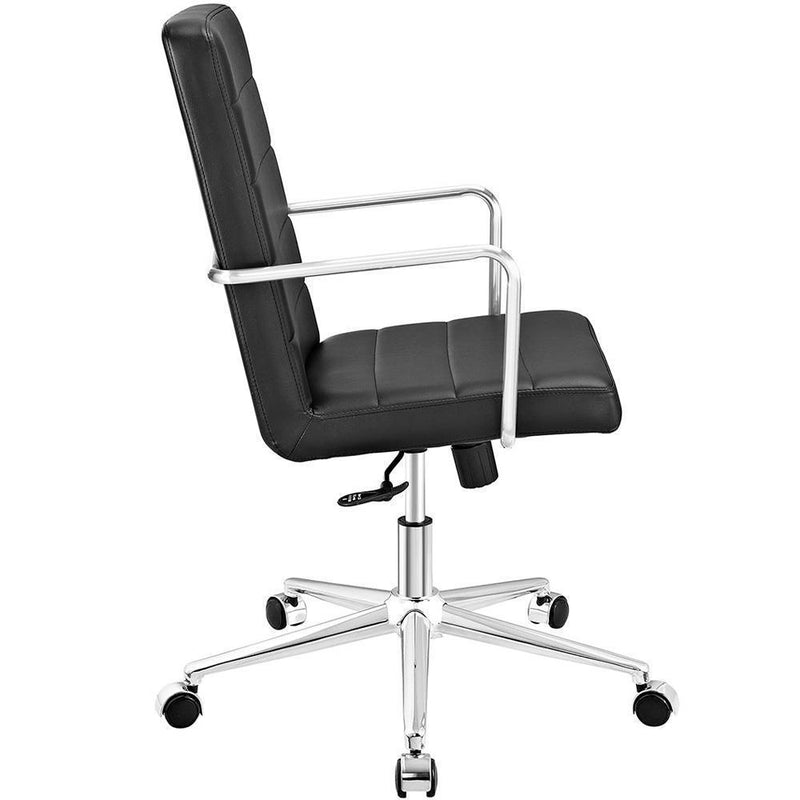 Modway Cavalier Highback Office Chair - Black
