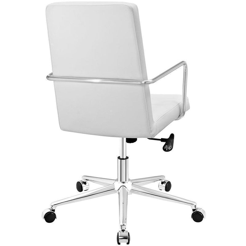 Modway Cavalier Highback Office Chair - White