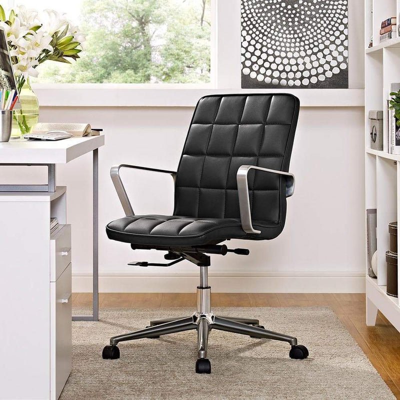 Modway Tile Office Chair - Black