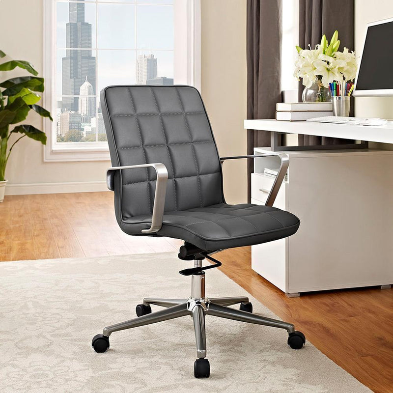 Modway Tile Office Chair - Gray