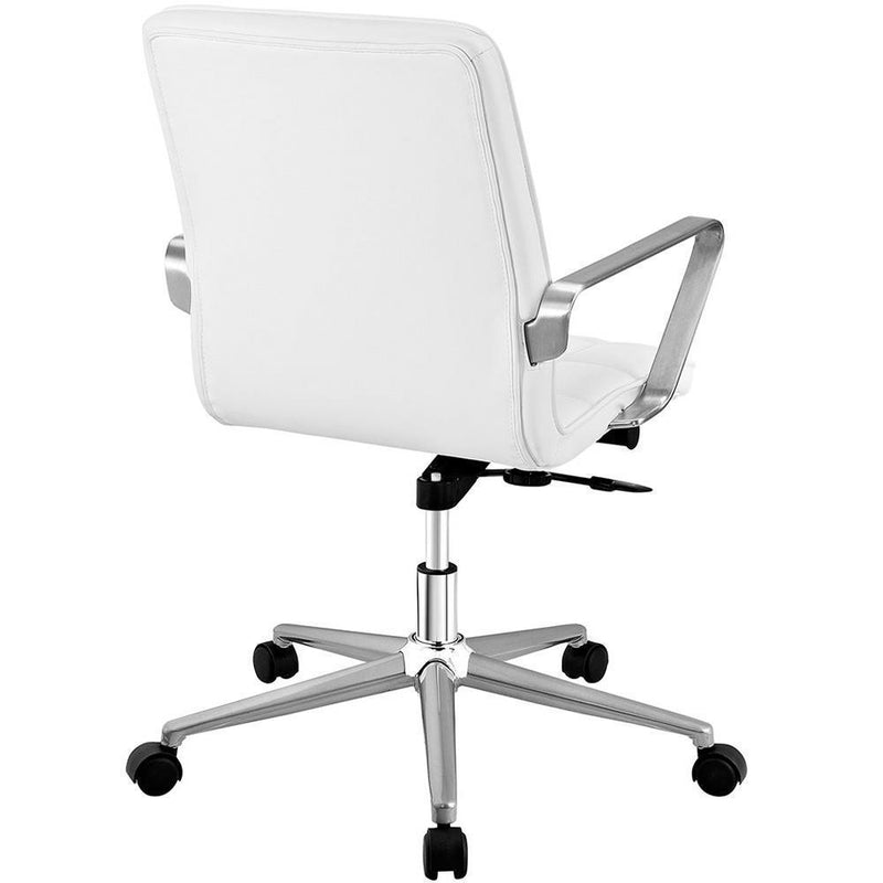 Modway Tile Office Chair - White
