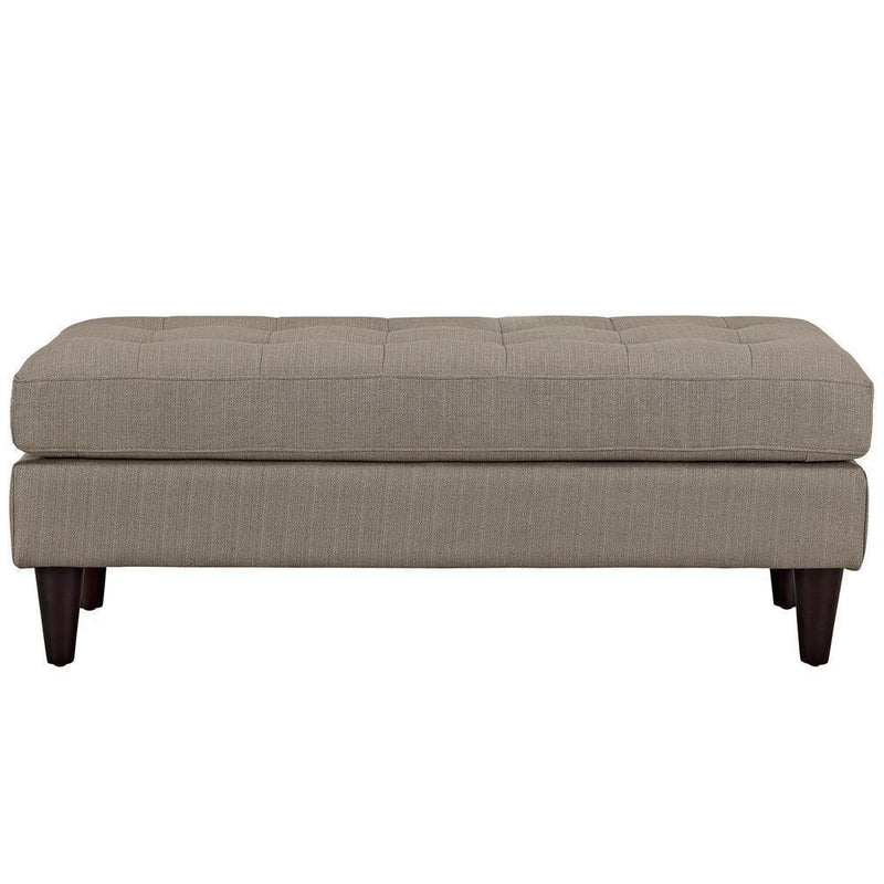 Modway Empress Upholstered Fabric Bench