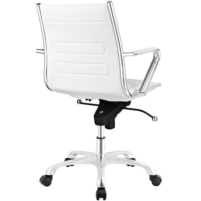 Modway Ascend Mid Back Office Chair - White