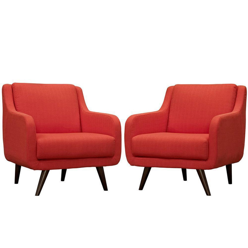 Modway Verve Armchairs - Set of 2