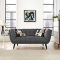 Modway Bestow Upholstered Fabric Loveseat