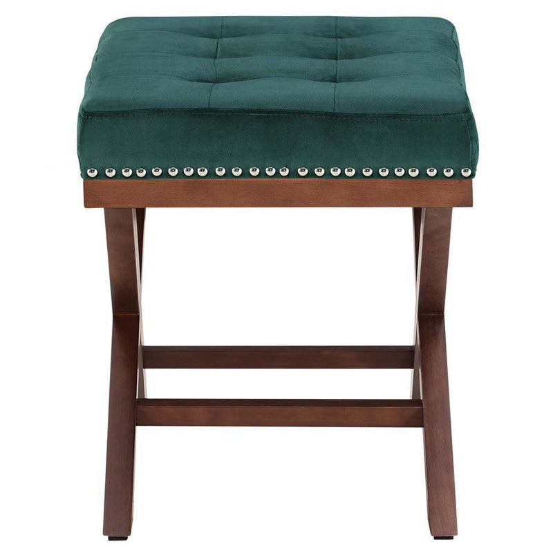 Modway Facet Wood Bench - Green