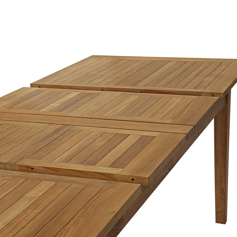 Modway Marina Extendable Outdoor Patio Teak Dining Table