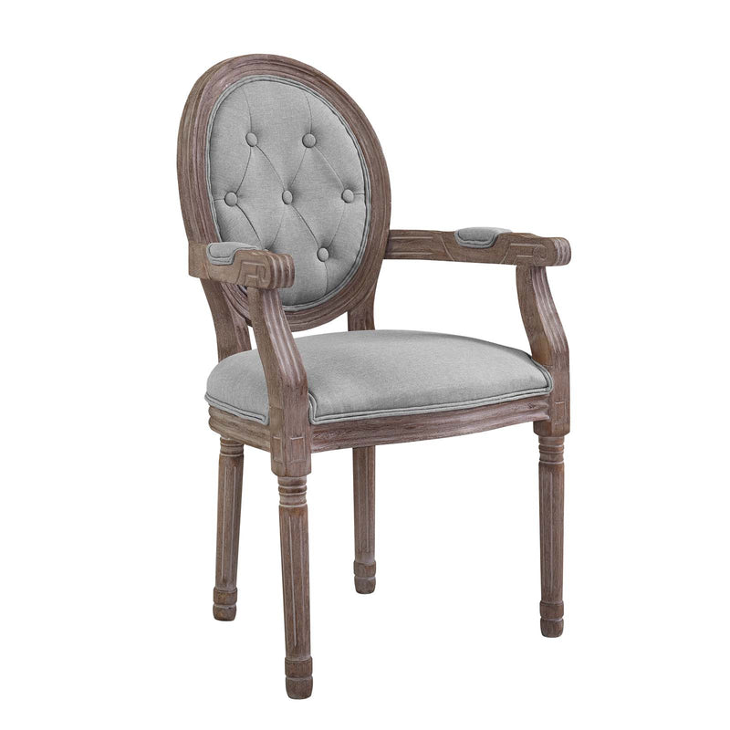 Modway Arise Vintage French Dining Armchair