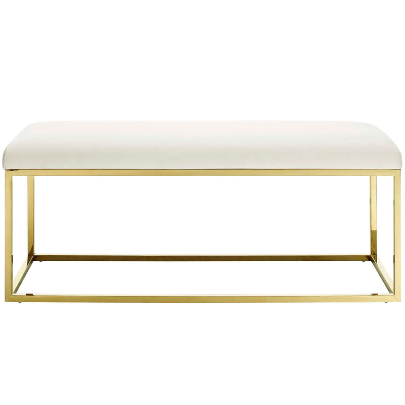 Modway Anticipate Fabric Bench