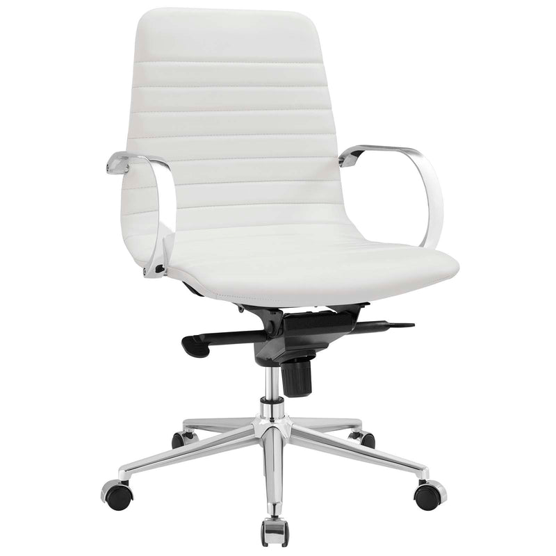 Modway Groove Ribbed Back Office Chair