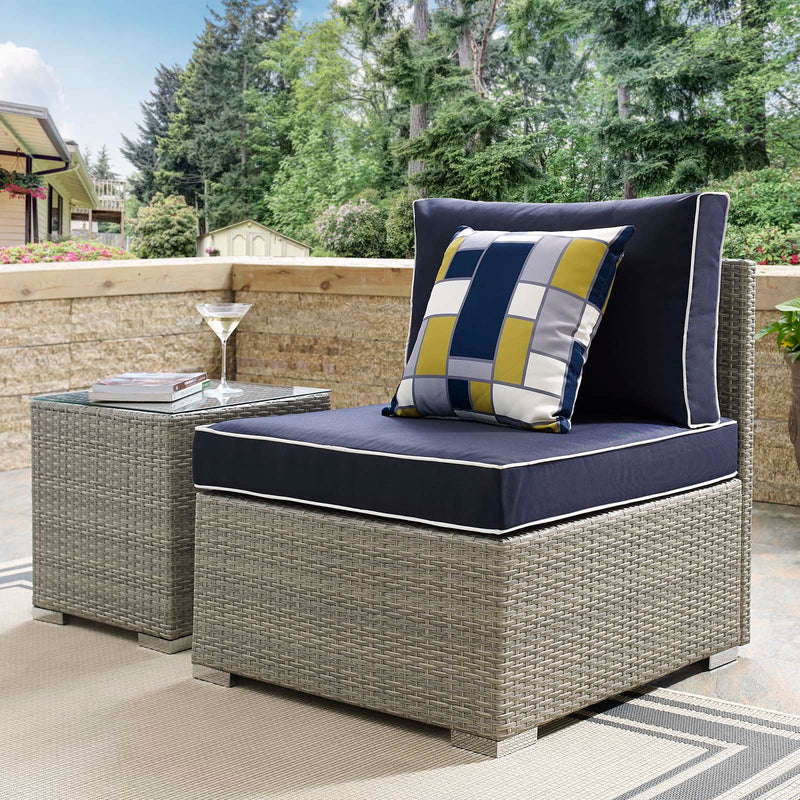 Modway Repose Outdoor Patio Armless Chair