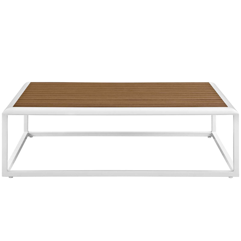 Modway Stance Outdoor Patio Aluminum Coffee Table