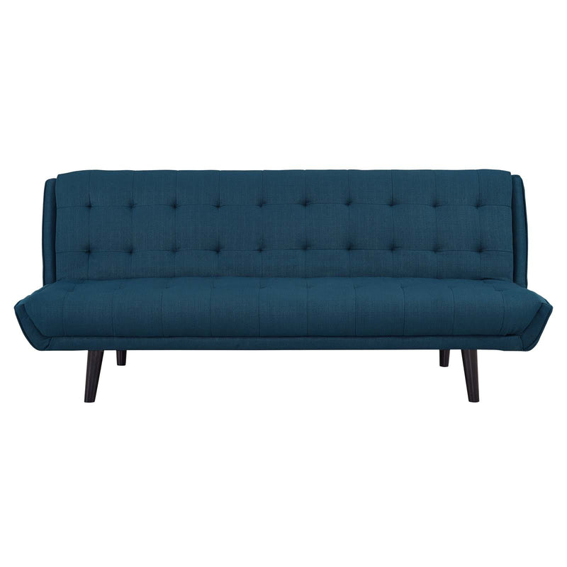 Modway Glance Tufted Convertible Fabric Sofa Bed