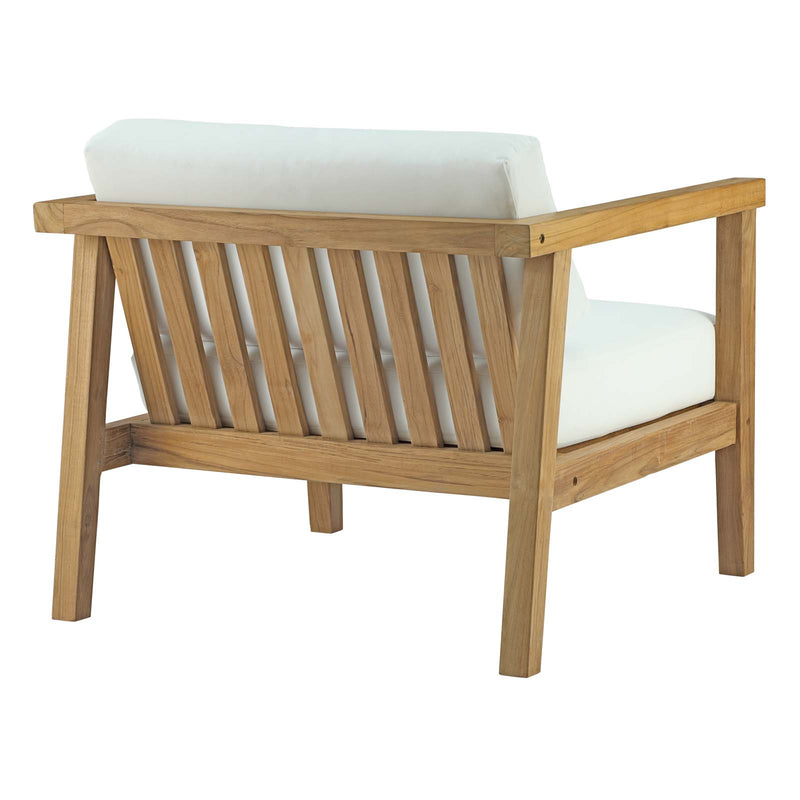 Modway Bayport 2 Piece Outdoor Patio Teak Set