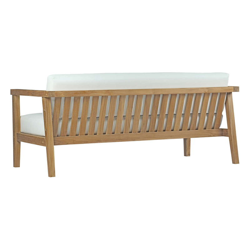 Modway Bayport 4 Piece Outdoor Patio Teak Set