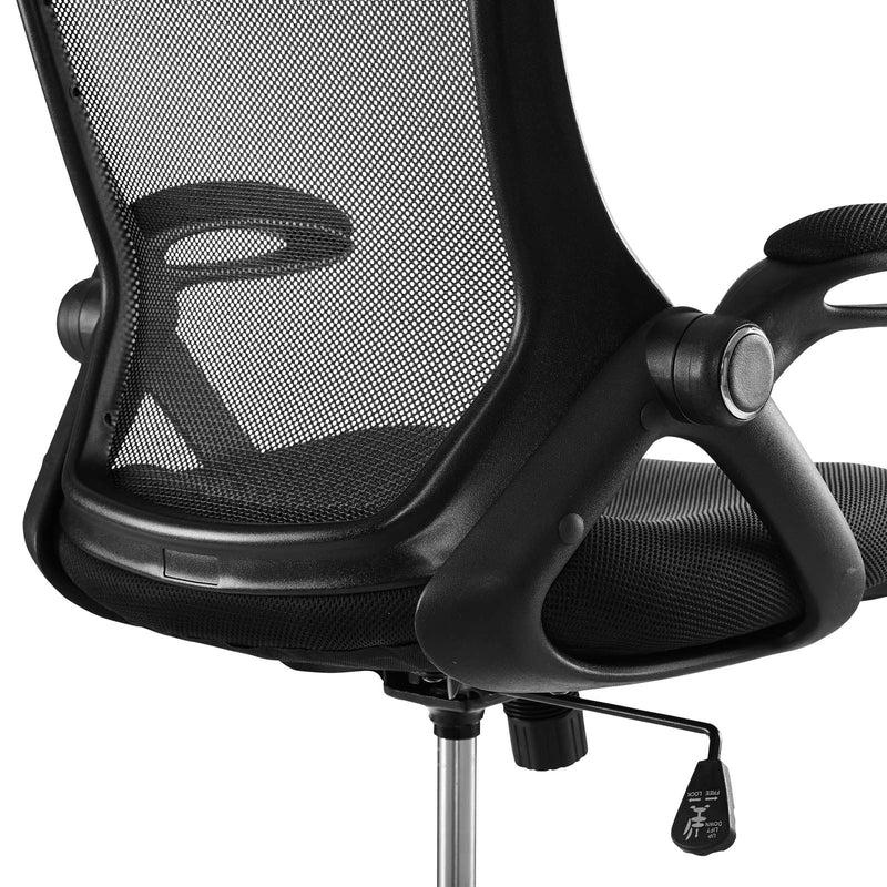 Modway Assert Mesh Drafting Chair Black