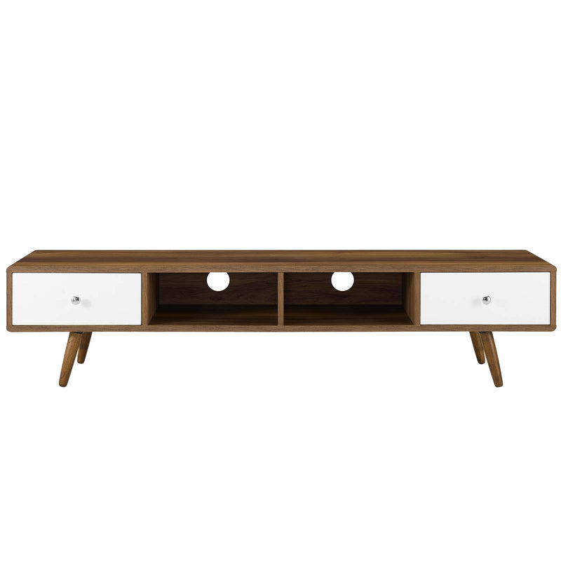 "Modway Transmit 70"" Media Console Wood TV Stand"
