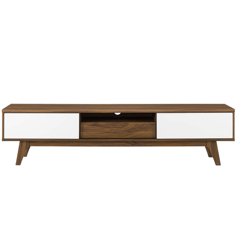"Modway Envision 70"" Media Console Wood TV Stand"