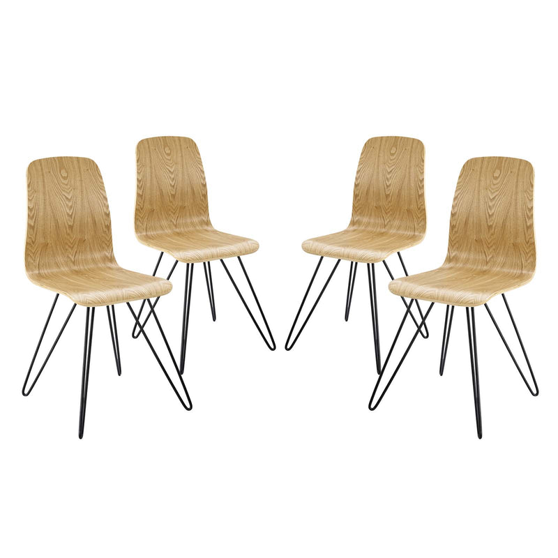 Modway Drift Dining Side Chair Set of 4