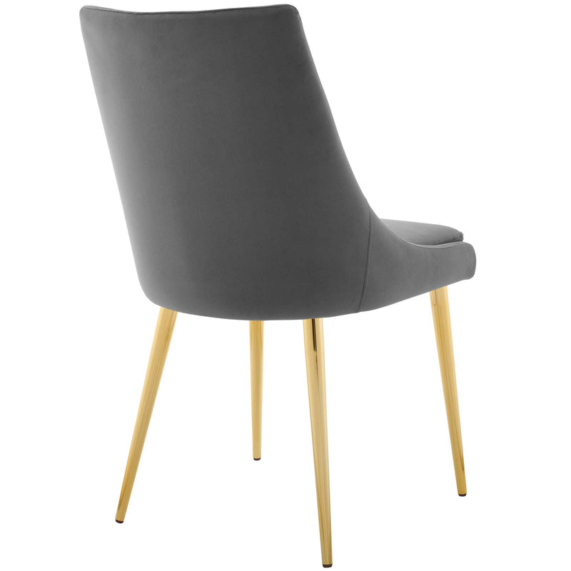 Modway Viscount Accent Performance Velvet Dining Chair