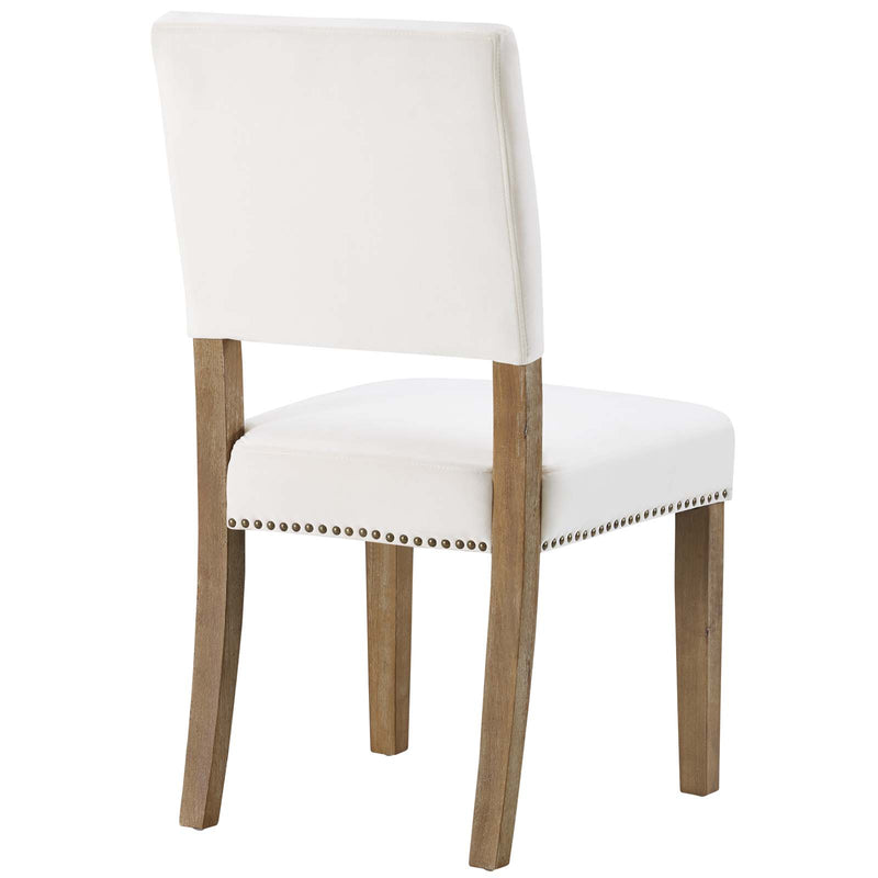 Modway Oblige Dining Chair Wood Set of 4