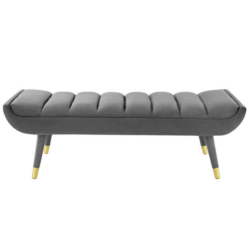 Modway Guess Channel Tufted Performance Velvet Accent Bench