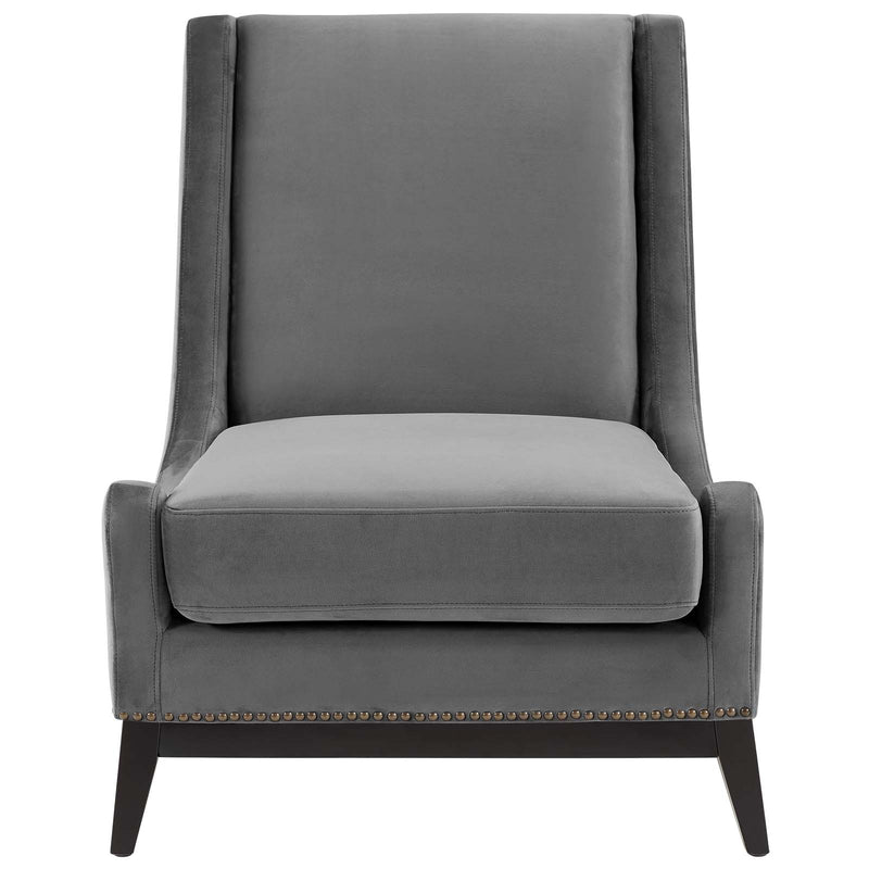 Modway Confident Accent Upholstered Performance Velvet Lounge Chair