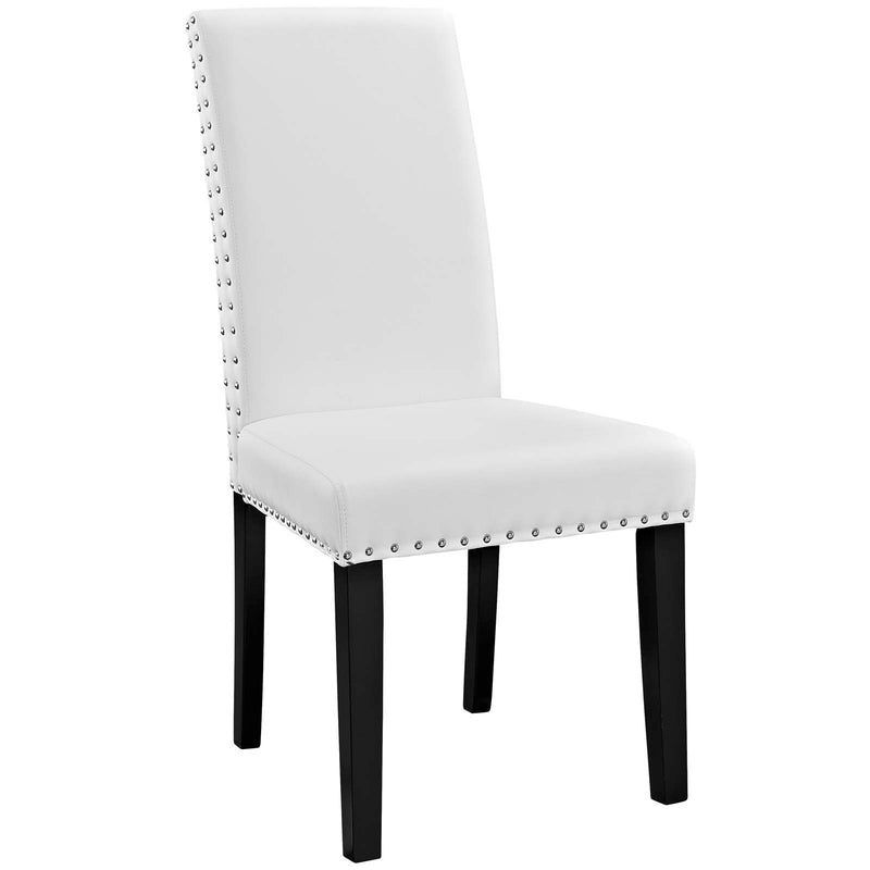 Modway Parcel Dining Side Chair Vinyl Set of 2