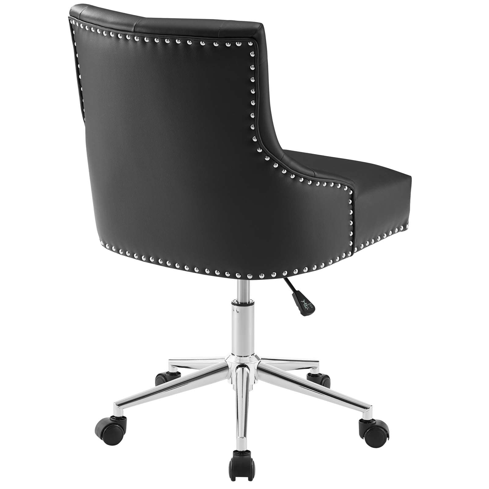 Modway Regent Tufted Button Swivel Faux Leather Office Chair Modish Store
