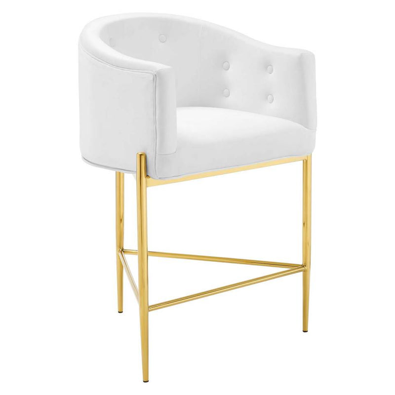 Modway Savour Tufted Performance Velvet Counter Stool