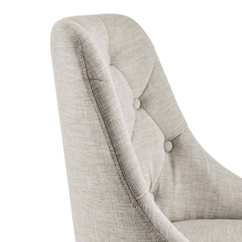 Modway Distinct Tufted Swivel Upholstered Office Chair