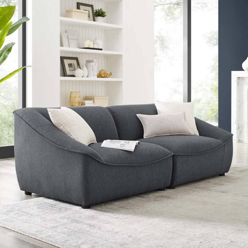 Modway Comprise 2-Piece Loveseat