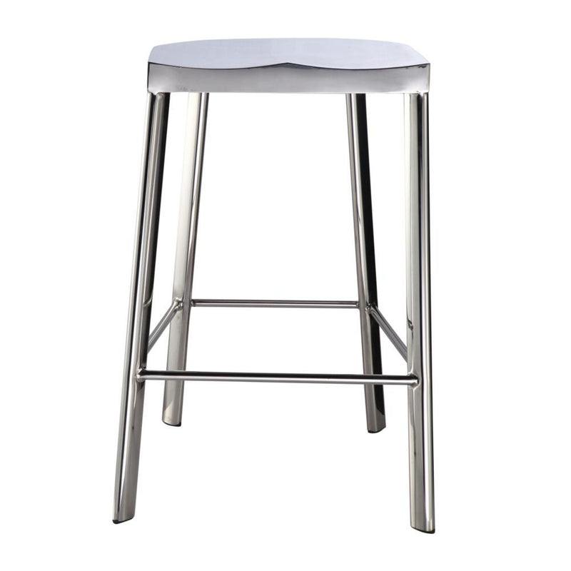 Fine Mod Imports Swiss Polished Counter Stool