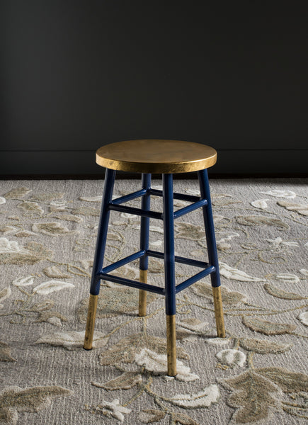 Safavieh Emery Dipped Gold Leaf Counter Stool Modish Store