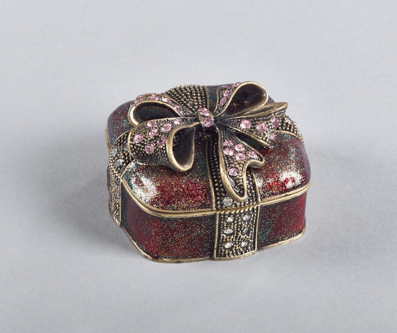Saro Bejeweled Gift Box