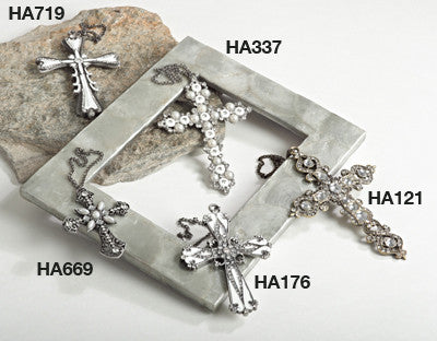 Saro Hanging Cross - Set Of 3