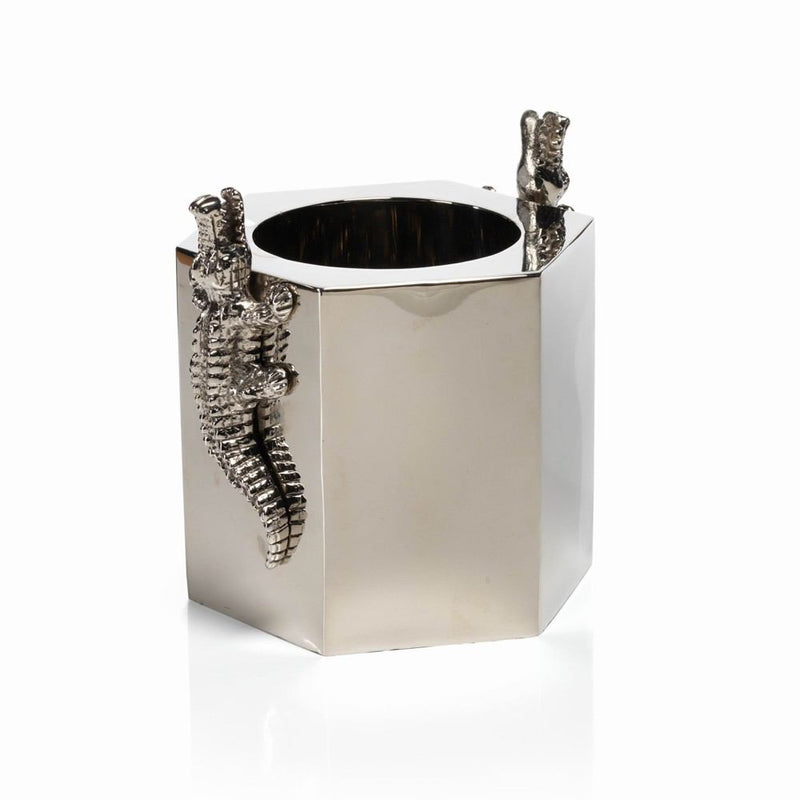 Zodax 7-Inch Tall Crocodile Wine Cooler