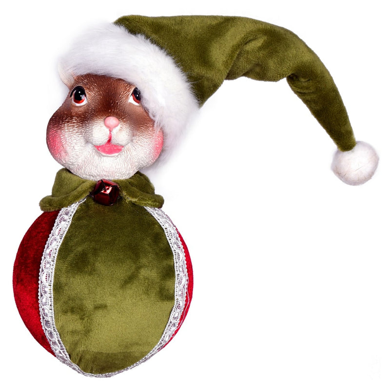 "4.5"" Candy Wonderland Collection Squirrel Ornament Set of 2 by Vickerman"