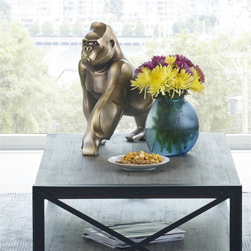 Moe's Home Collection Digit Art Deco Gorilla Statue