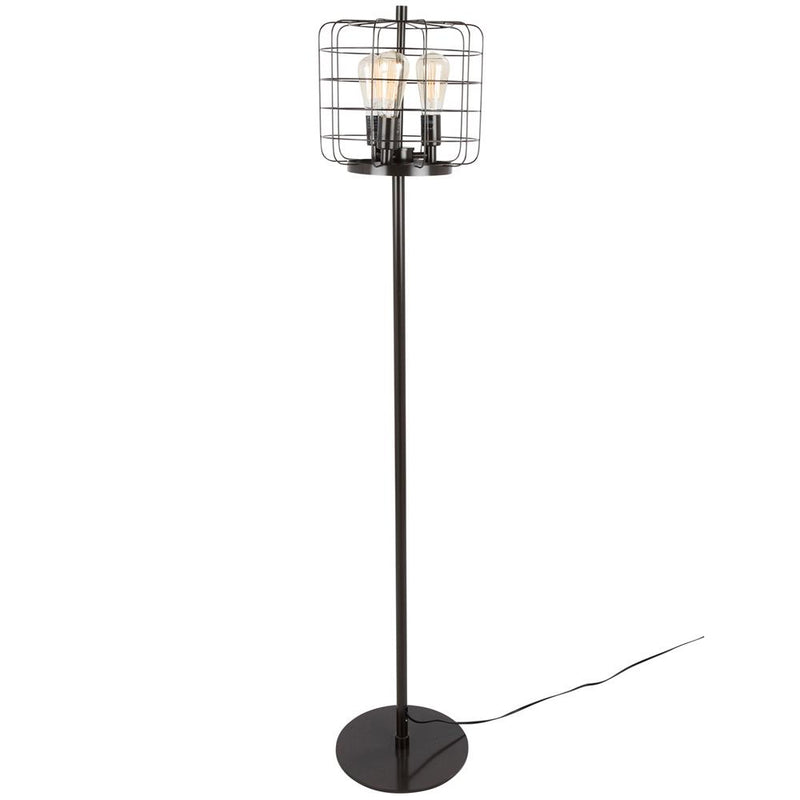 LumiSource Indy Cage Floor Lamp