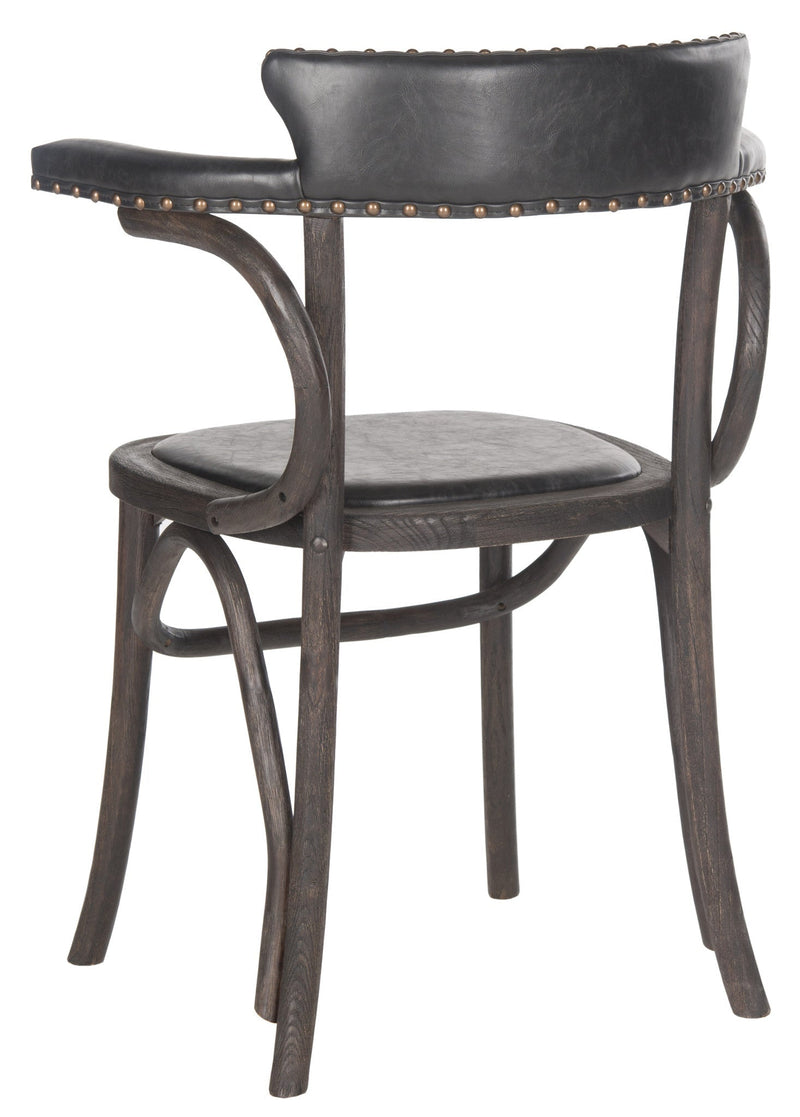Safavieh Kenny Arm Chair - Brass Nail Heads