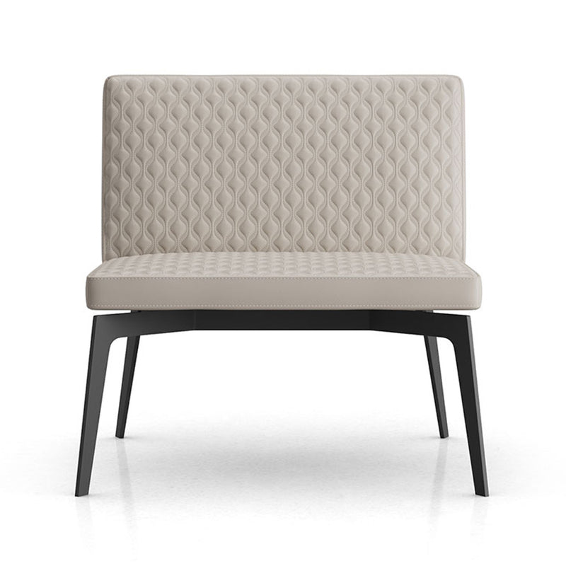 Modloft Spring Lounge Chair in Opala Leather