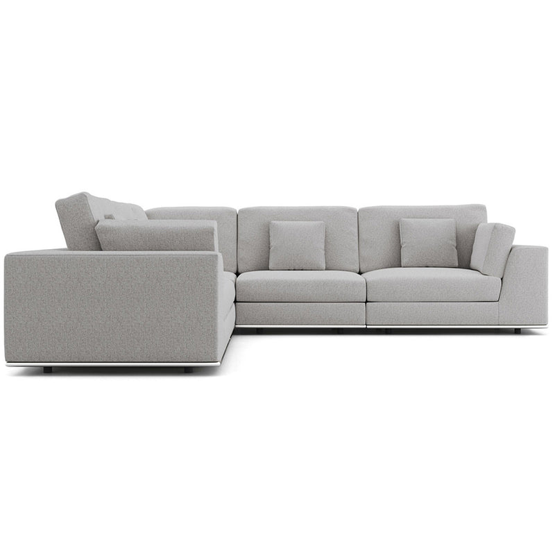 Modloft Perry Sectional Large 2 Arm Corner Sofa