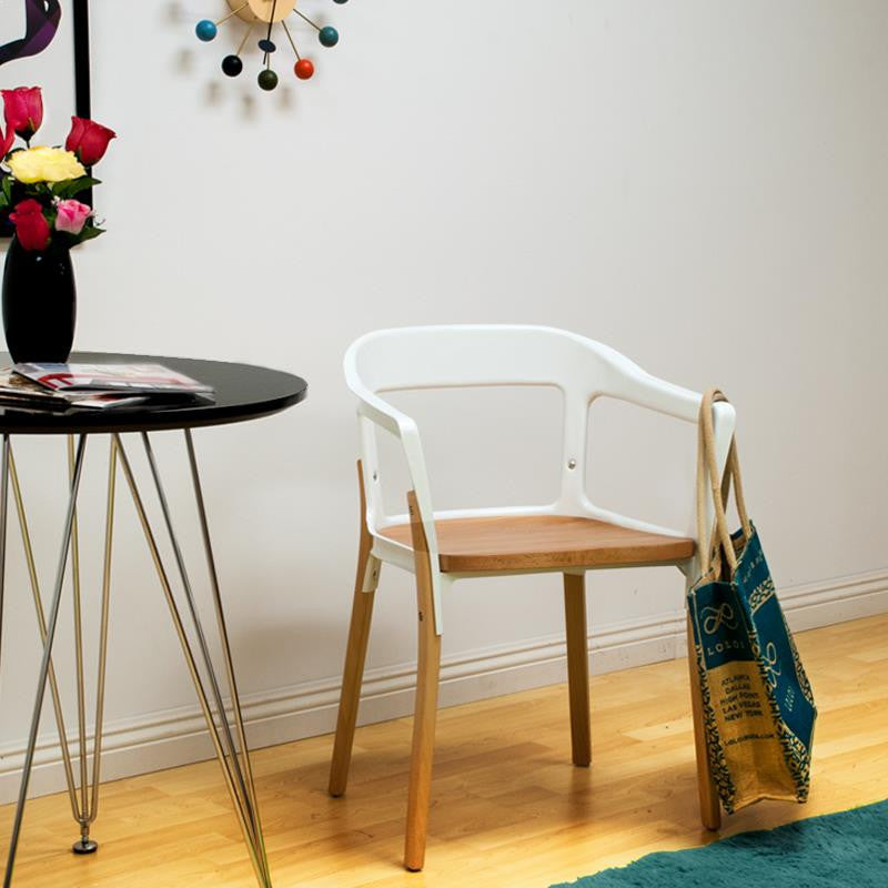 Mod Made Jasper Steel Wood Chair