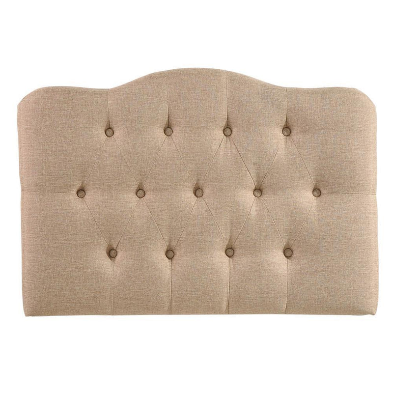 Modway Annabel Twin Upholstered Fabric Headboard - Beige
