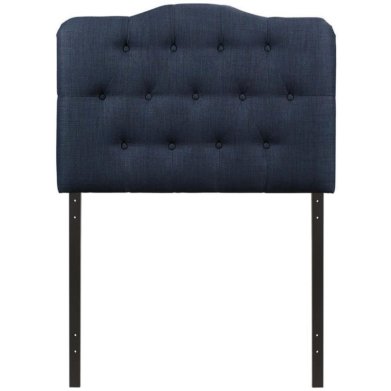 Modway Annabel Twin Upholstered Fabric Headboard - Navy