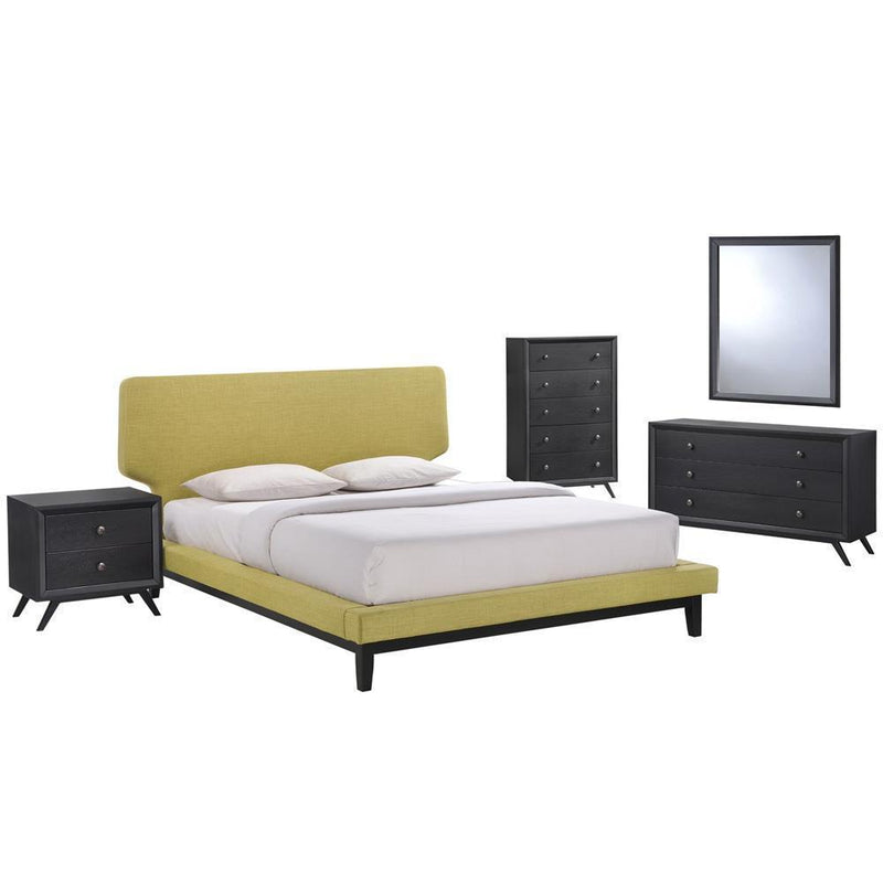 Modway Bethany 5 Piece Queen Bedroom Set - MOD-5335