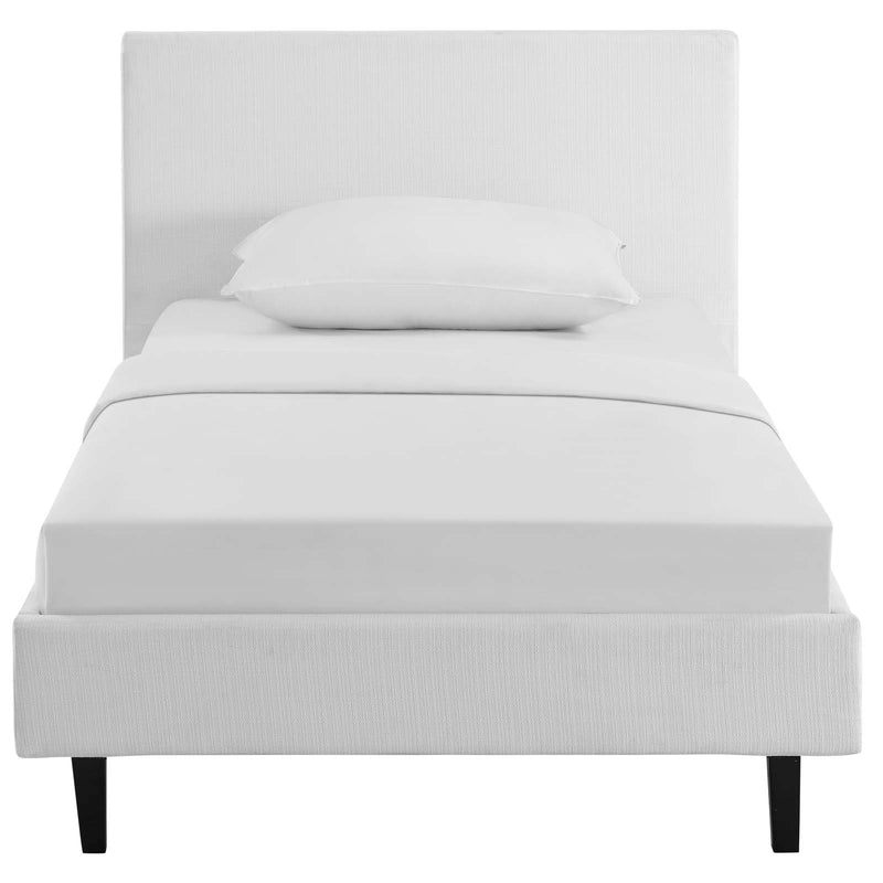 Modway Anya Twin Bed - White