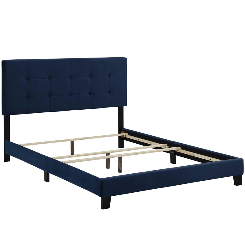Modway Amira Full Upholstered Velvet Bed