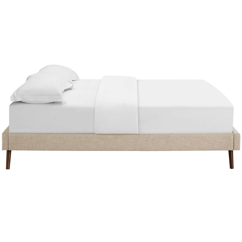 Modway Loryn King Upholstered Fabric Bed Frame